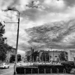 Chmura nad Placem Legionów we Wrocławiu