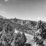 Widok na Śnieżne Kotły niedaleko Łabskiego szczytu.